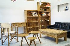 天然オーク家具
