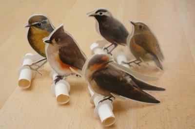 画像3: 小鳥のメモスタンド C柄 80シート付き