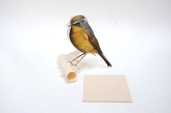 画像1: 小鳥のメモスタンド C柄 80シート付き (1)