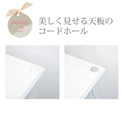 画像2: アンティーク風な白家具 Anne デスク 一人暮らしに最適 ホワイトデスク かわいい おしゃれ エレガントテーブル / 送料無料・即日発送