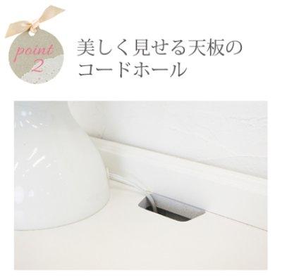 画像2: 白家具 Anne シェルフ【一人暮らしに最適】