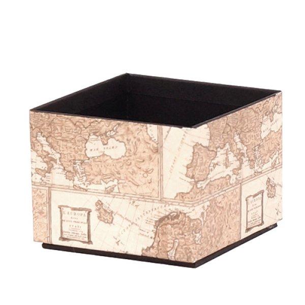 画像1: 【小物トレイ・小物収納】スタッキングできるイタリアの輸入高級紙を使用した卓上収納 小物トレイ (1)