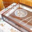 画像4: ダークブラウン木製5面ガラスディスプレイケース コレクションケース ジュエリーケース (4)