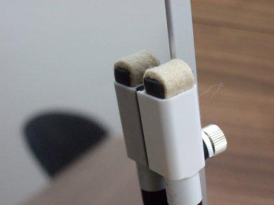 画像1: 卓上タイプの鏡面仕上げマグネットボード