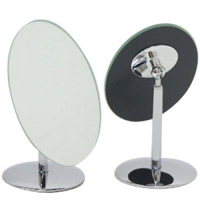 画像2: 360度角度調節可能! オーバルデスクミラー