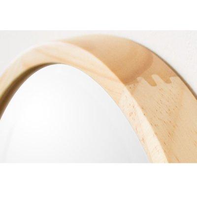 画像2: 無垢材で作られたウッドウオールミラー アコウスティック