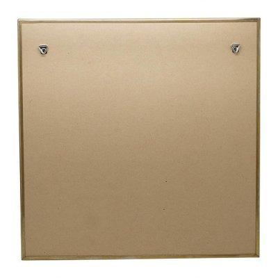 画像1: 【縦横両用】真鍮ミラー 壁掛けミラー ウォールミラー W400×H400 正方形