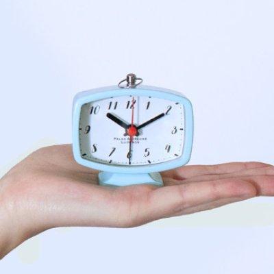 画像2: 手のひらサイズレトロデザインのアラームクロック
