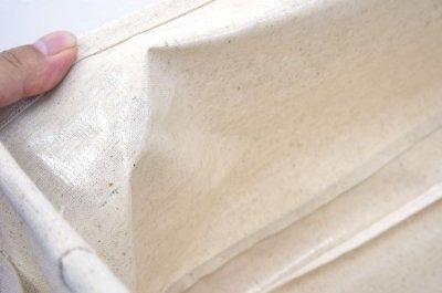 画像2: エマ ファブリック収納ボックス ウッドラック用  Sサイズ ホワイト※完売しました