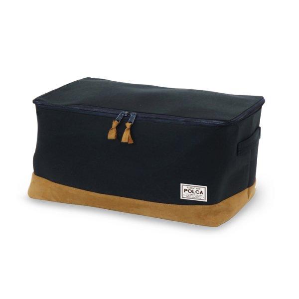 画像1: 衣類収納ボックス ポルカ Lサイズ 【即日発送】 (1)