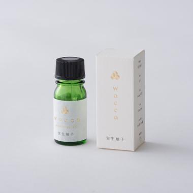 日本のアロマフレグランス実生ゆずの香り