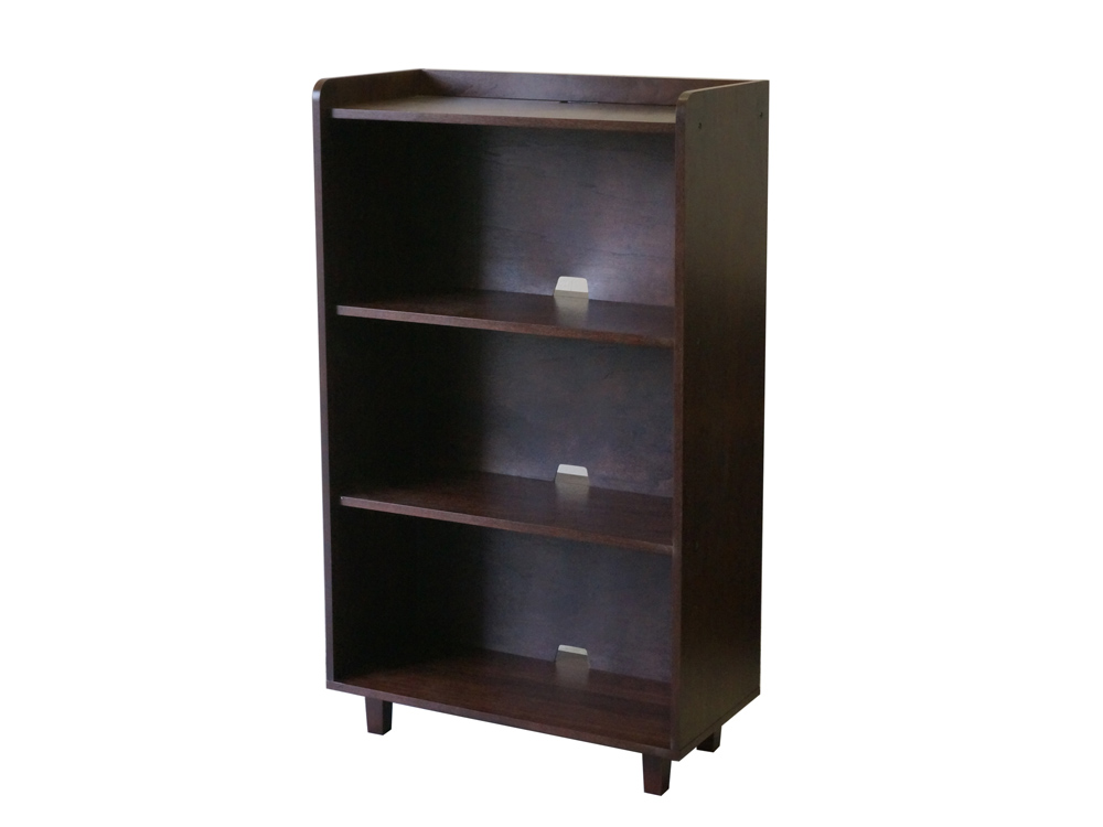 modern vintage Morvie Smart shelf walnut brown