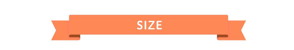 フォトフレームのサイズ