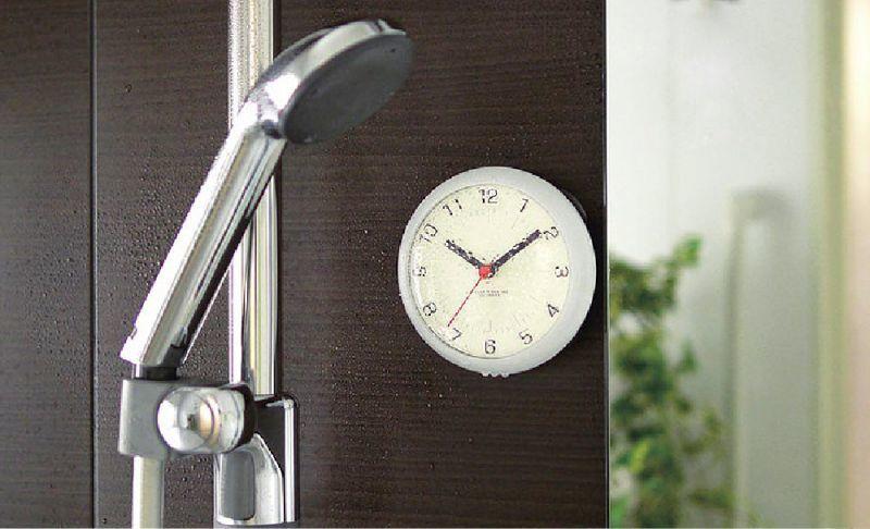 防水お風呂時計