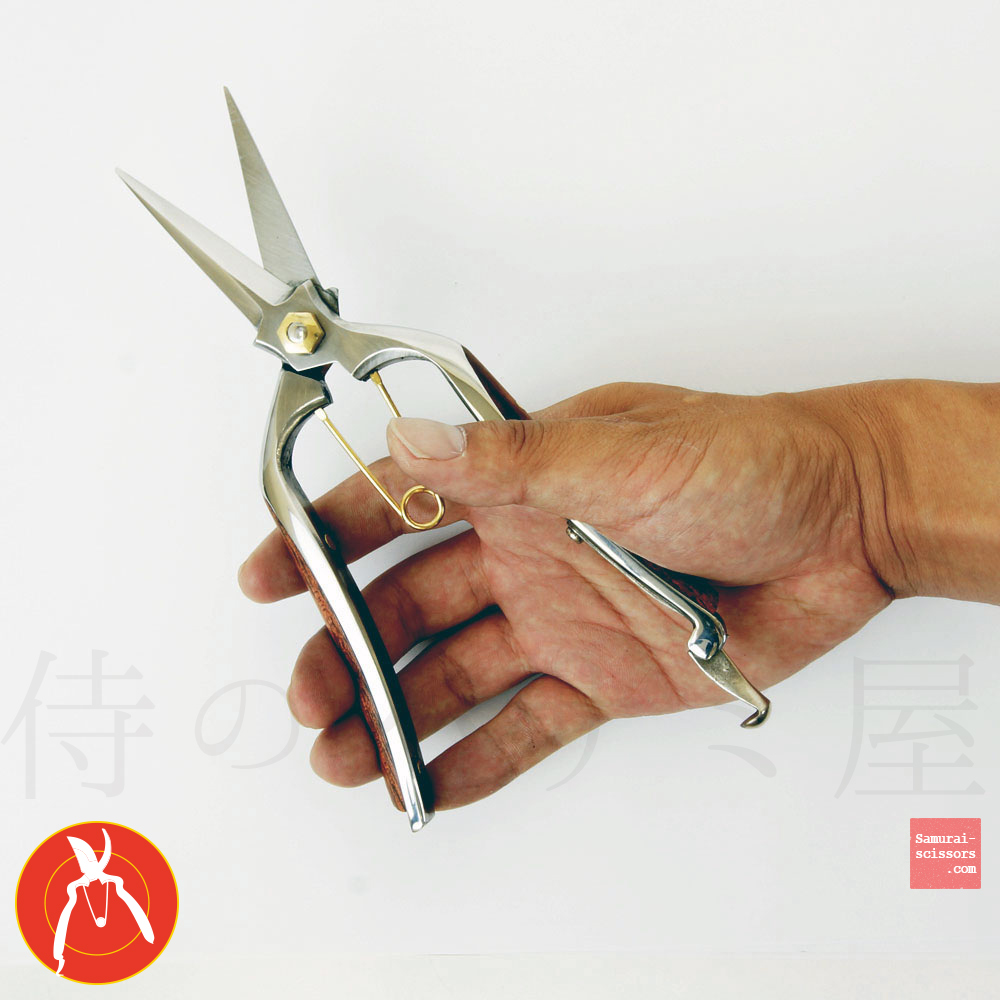 Trimming shears No.08 Stainless steel for roses