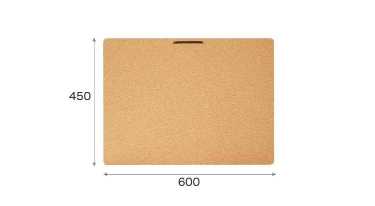 Sサイズコルクボードのサイズ