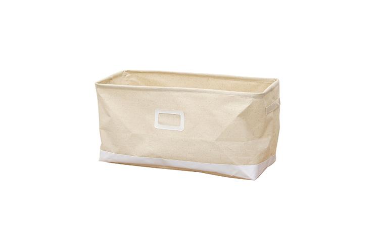Ema エマ収納ボックスLサイズ ホワイト