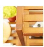 天然木のナチュラル感 木製棚