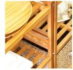 木製棚イメージ